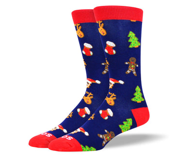 Men's Christmas Theme Socks