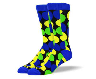 Men's Crazy Colorful Dot Socks