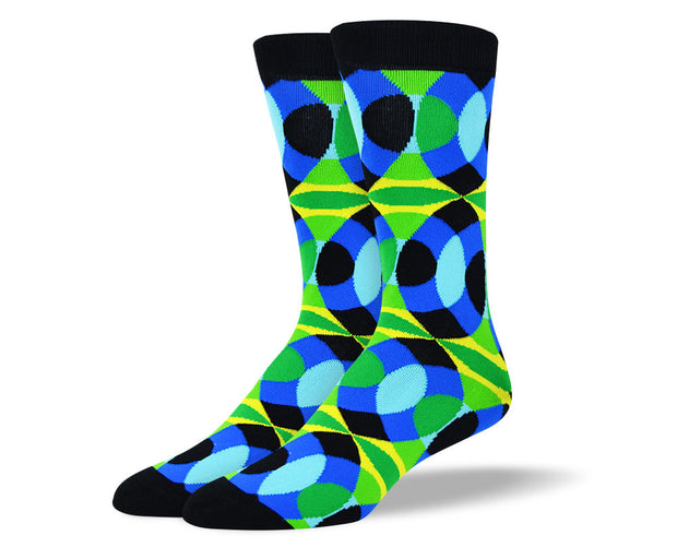 Men's Fun Colorful Socks
