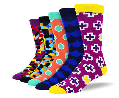 Men's Fun Designer Socks Bundle