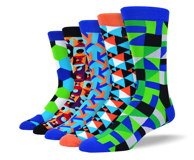 Men's Funky Bold Socks Bundle