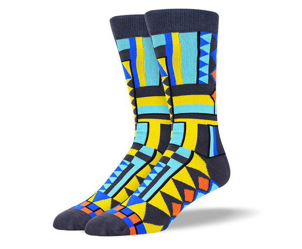 Men's Funky Graphic Socks