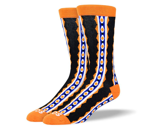 Men's Fun Orange Sock Bundle