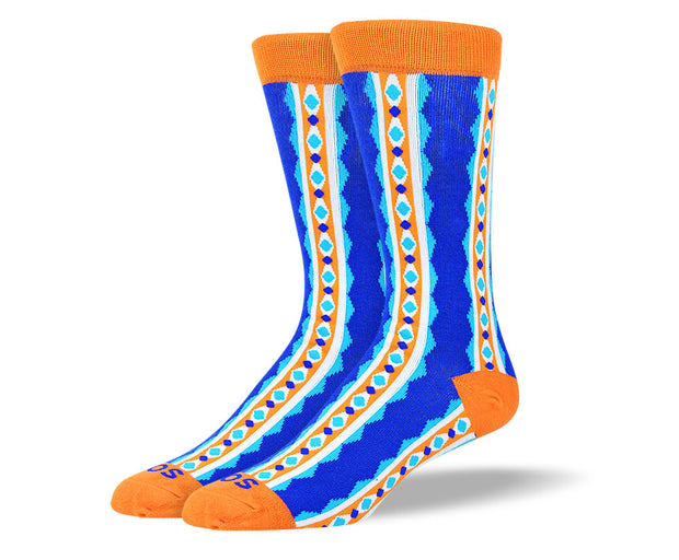 Men's Funny Pattern Colorful Socks
