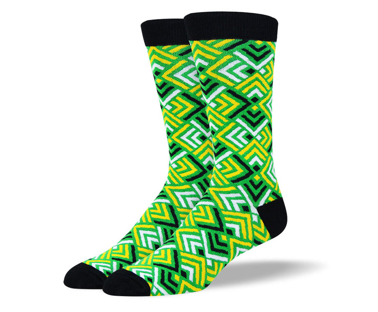 Men's Green Cool Socks