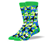 Men's Fun Green Sock Bundle