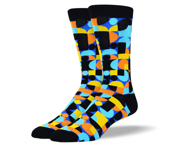 Men's Novelty Socks with Patterns