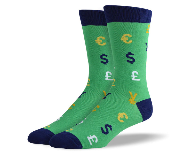 Mens Currency Socks