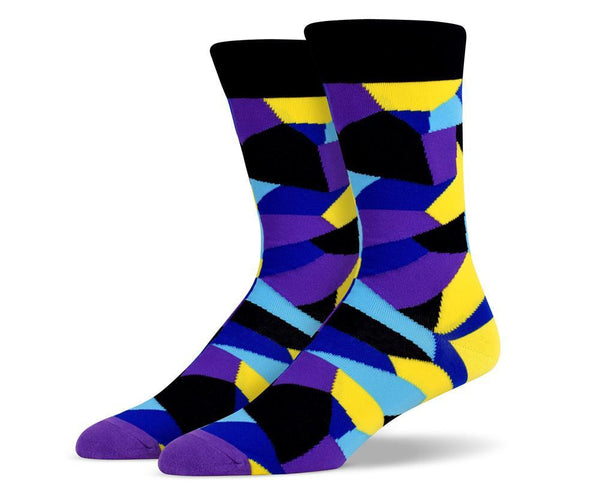 Mens Mosaic Socks