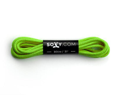 Mens Neon Green Laces