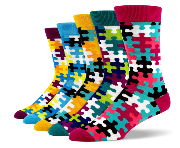 Mens Puzzlemania Sock Bundle
