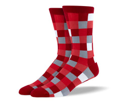Men's Red Square Socks