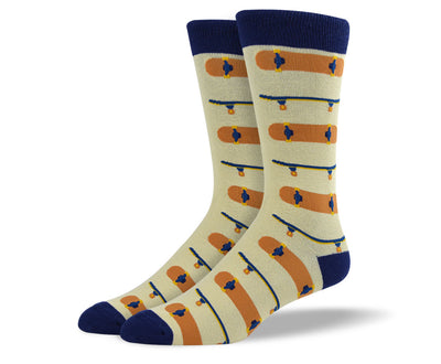 Mens Skateboarding Socks