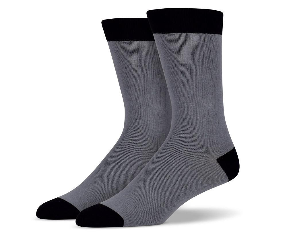 Solid Grey Socks