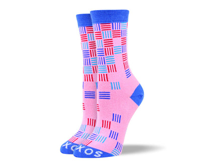 Women's Awesome Pink Pattern Socks