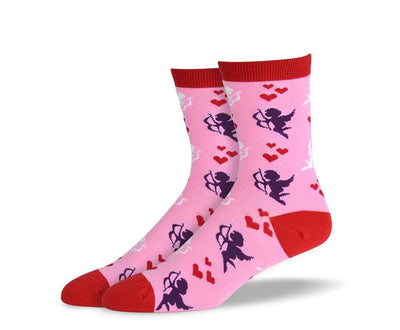 Women's Pink Valentines Day Socks