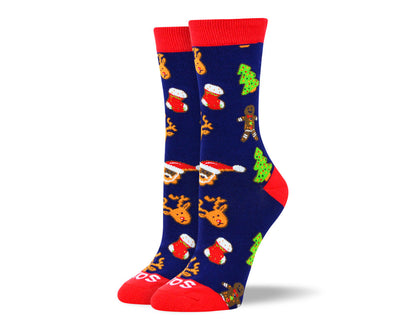 Women's Christmas Theme Socks