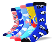 Men's Funny Animal Sock Bundle