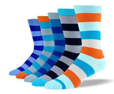 Mens Blue Big Stripes Bundle