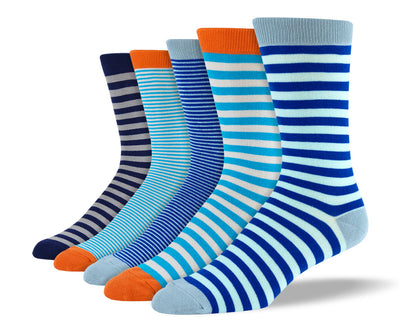 Mens Blue Thin Stripes Bundle
