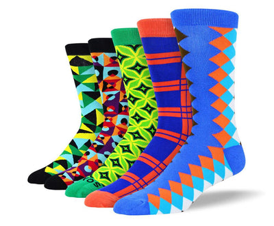Men's Colorful New Socks Bundle