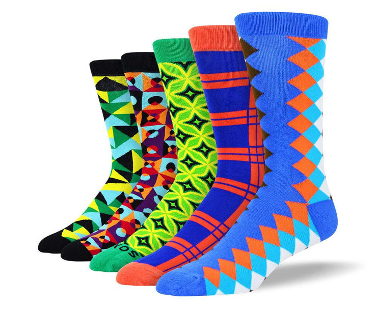 Men's Crazy New Socks Bundle