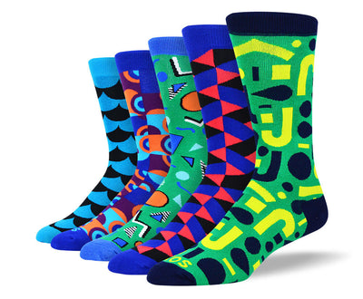 Men's Funky Pattern Socks Bundle