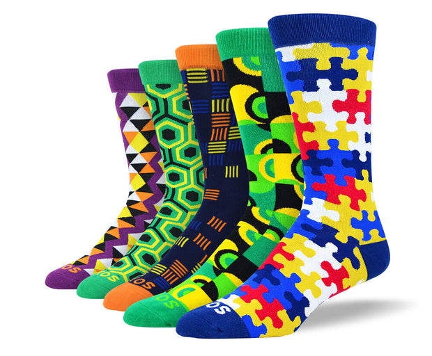 Mens Creative Socks Bundle