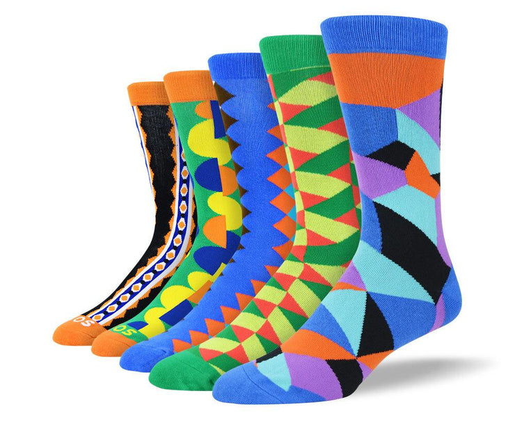 Men's Crazy New Dress Socks Bundle
