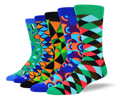 Men's Unique Fashion Sock Bundle