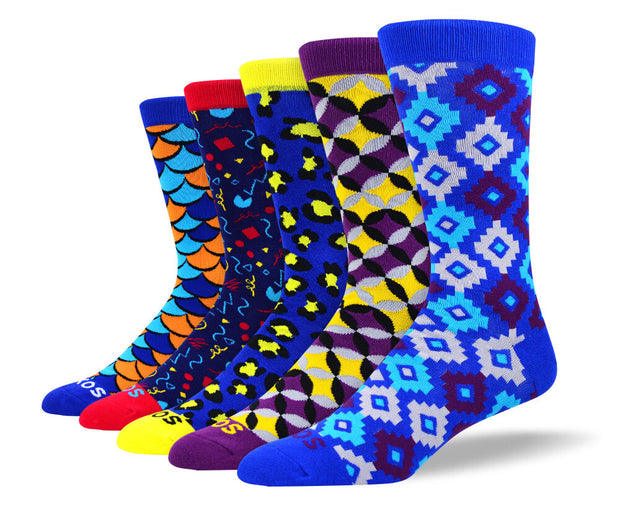 Men's Crazy Fashion Socks Bundle