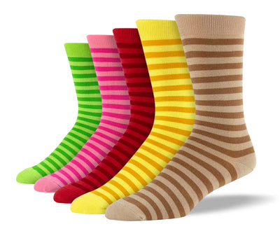 Mens Fancy Colorful Stripes Bundle