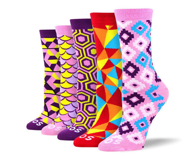 Women's Pattern New Sock Bundle