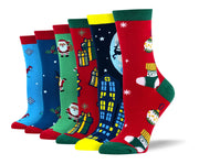 Women's Christmas Bundle - 6 Pairs