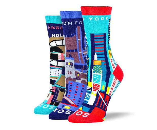 Women's Dress City Sock Bundle
