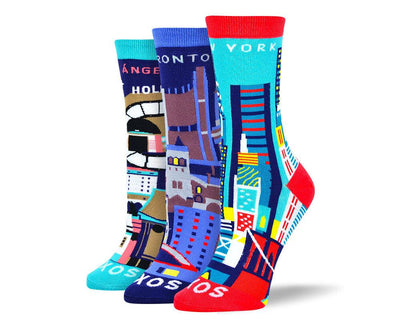 Women's Fancy City Sock Bundle