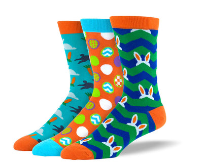 Men's Easter Sock Bundle - 3 Pair
