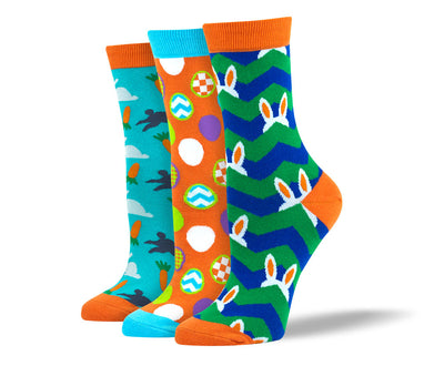Women's Easter Sock Bundle - 3 Pair