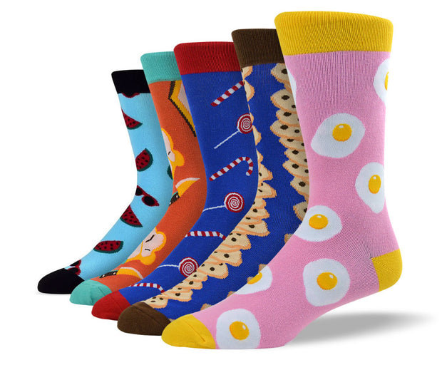 Men's Cool Foodie Sock Bundle