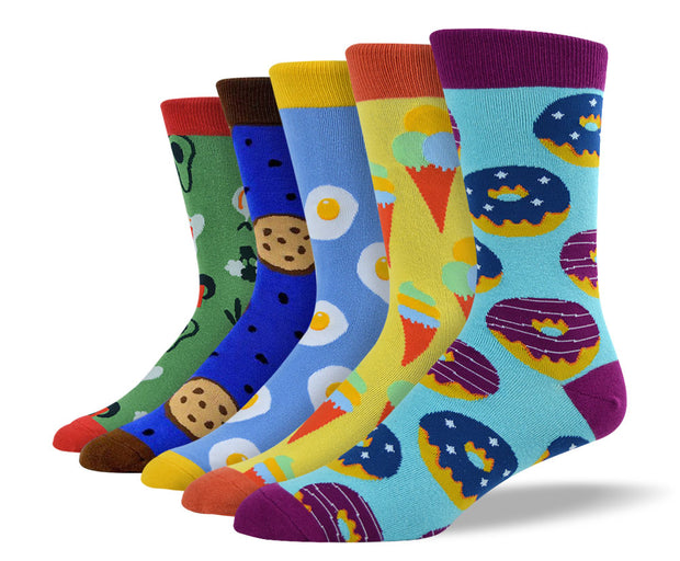 Men's Foodie Sock Bundle
