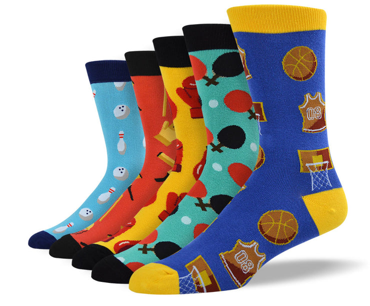 Men's Awesome Sports Sock Bundle