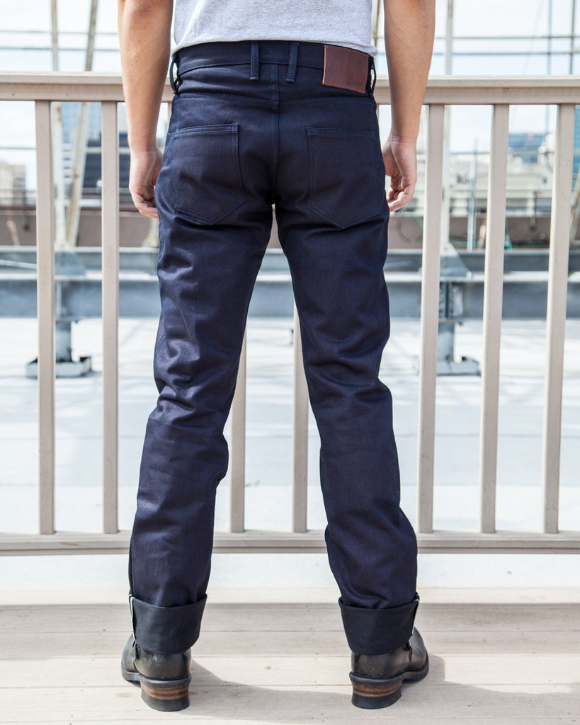 3sixteen SL-120x 'Shadow Selvedge' Jeans - Raw Selvedge