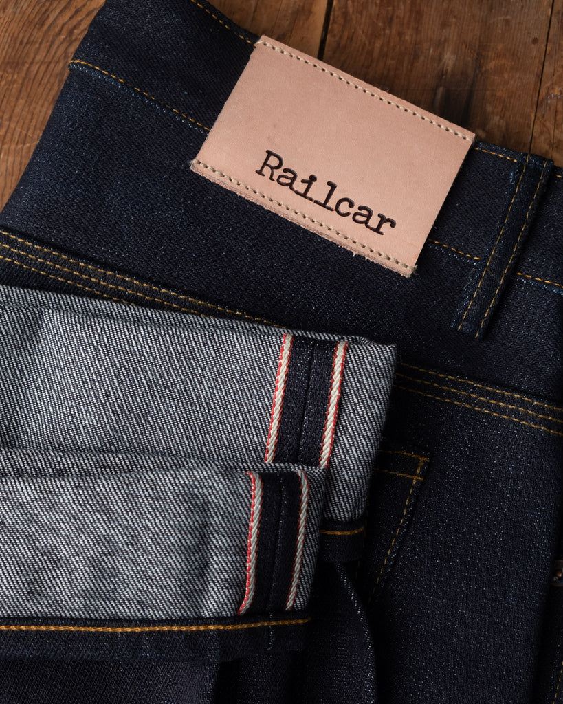Railcar Spikes X034 Super Slub Jeans