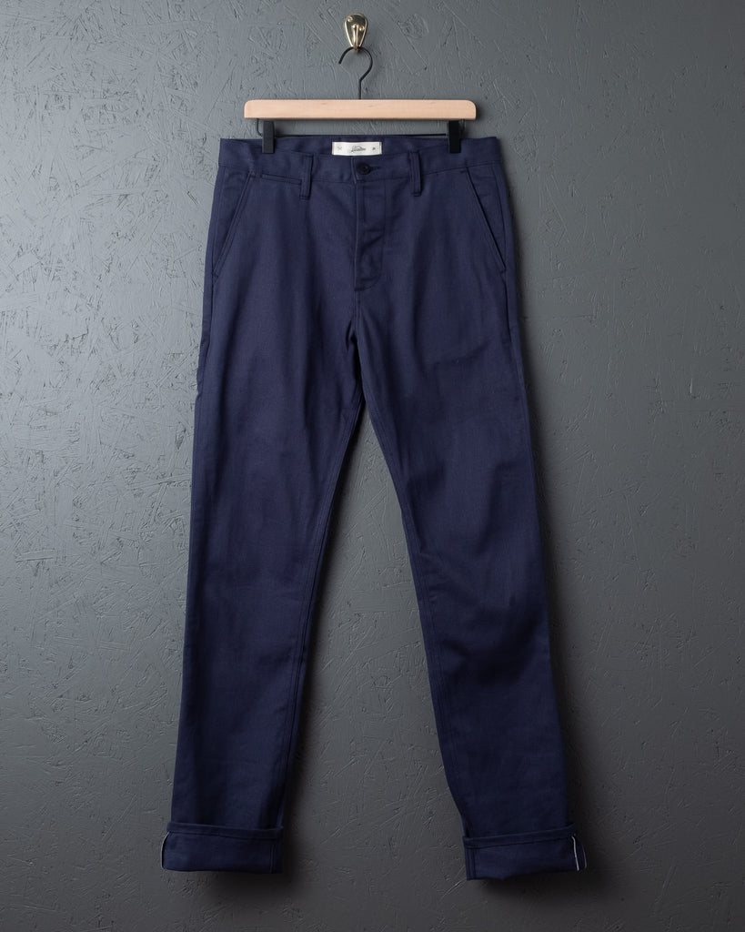 3sixteen CH-11x Chinos - Navy Selvedge Twill