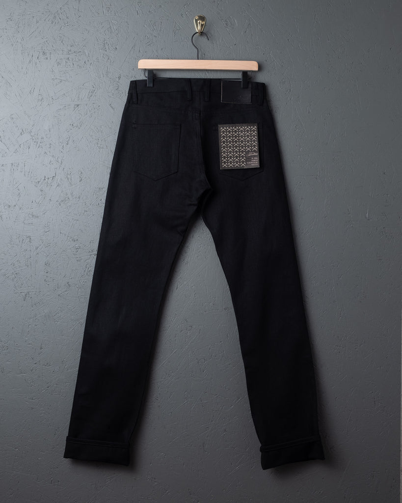 3sixteen SL-220x Double Black Jeans - Raw Selvedge