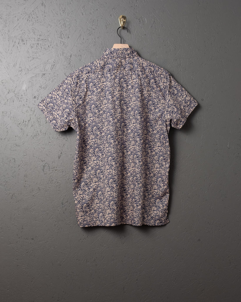 3sixteen SS Popover Shirt - Tan Floral