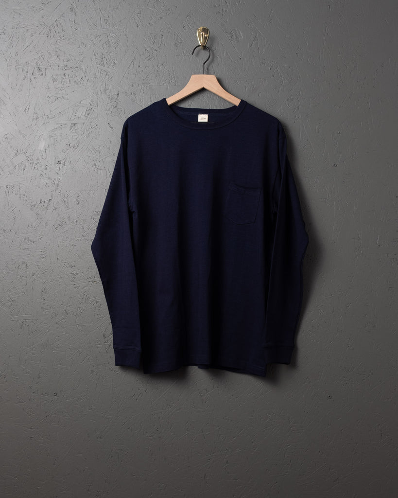 3sixteen LS Heavyweight Pocket T-Shirt