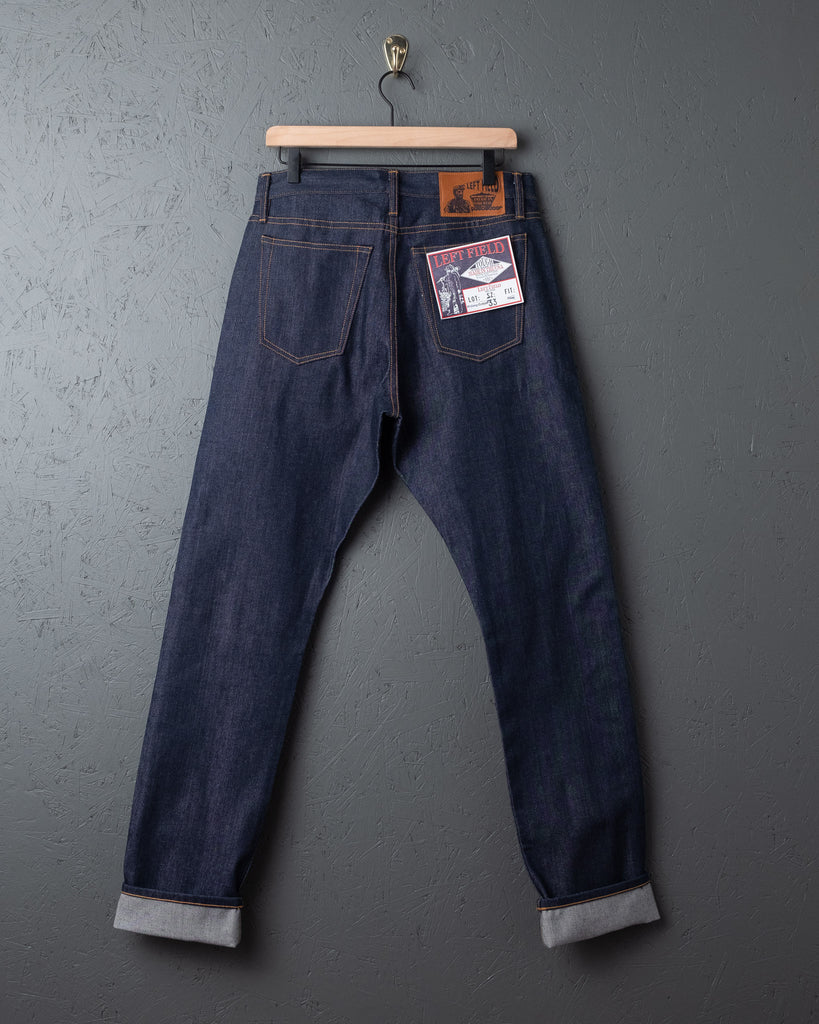 Left Field NYC Charles Atlas Jeans- Cone Mills Selvedge