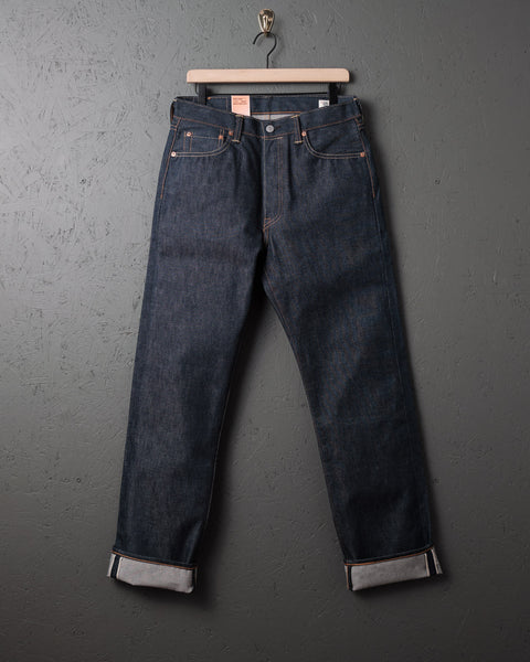 04b5adaa Levi's Made in USA 'Two Horse Blue' Original Fit 501   Two Jacks Denim