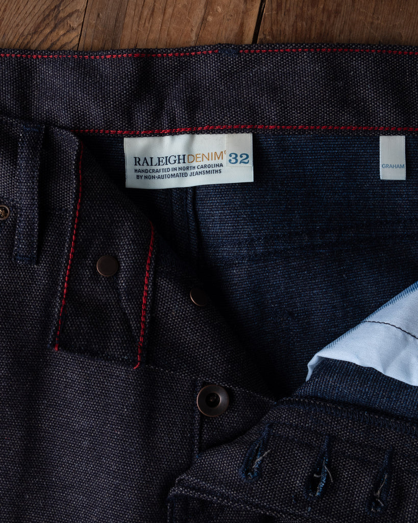 Raleigh Graham Bracken Canvas Trousers
